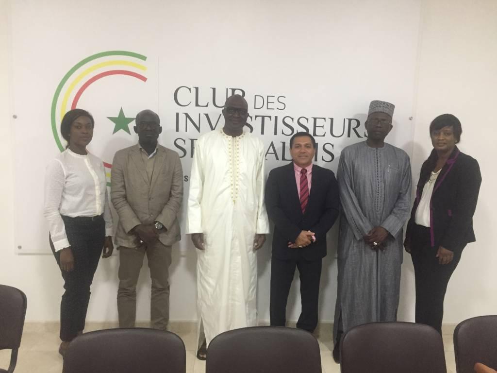 Visite de l'ambassadeur de l'Inde au Club des Investisseurs Sénégalais  25 Novembre 2018