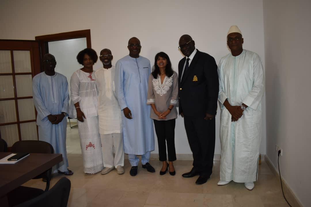Visite de la Représente résidente du PNUD