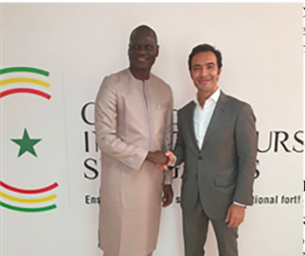 Visit of Mr. Amir Ben Yamed GD Young Africa to the Senegalese Investors Club