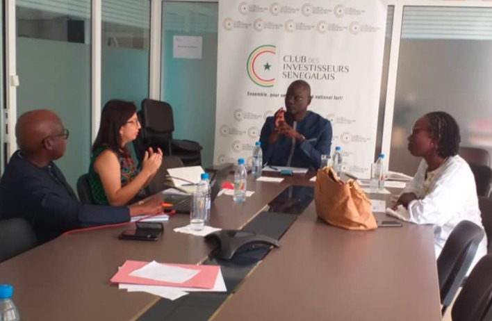 The Senegal Investors' Club received the regional representatives of International Finance Corporation