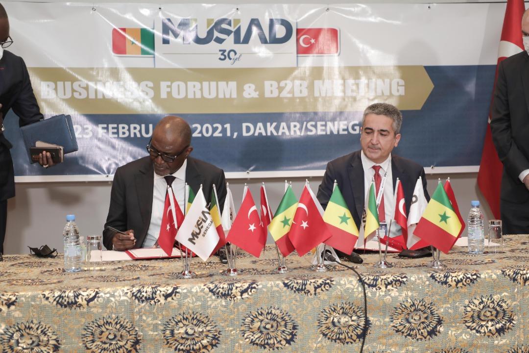 CIS et MUSIAD  Signature d'un mémorandum d'accord (MOU) pour promouvoir la coopération bilatérale aux entreprises
